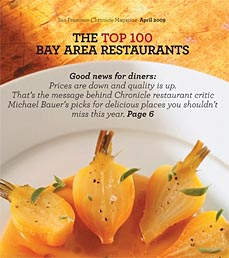 SFGate top100 bay area restaurants 2009