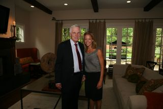 Robyn and Ted Turner